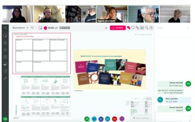 Online-brainstorm med Treehotel